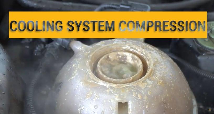 Compression In Cat C15 Diesel Engine Cooling System