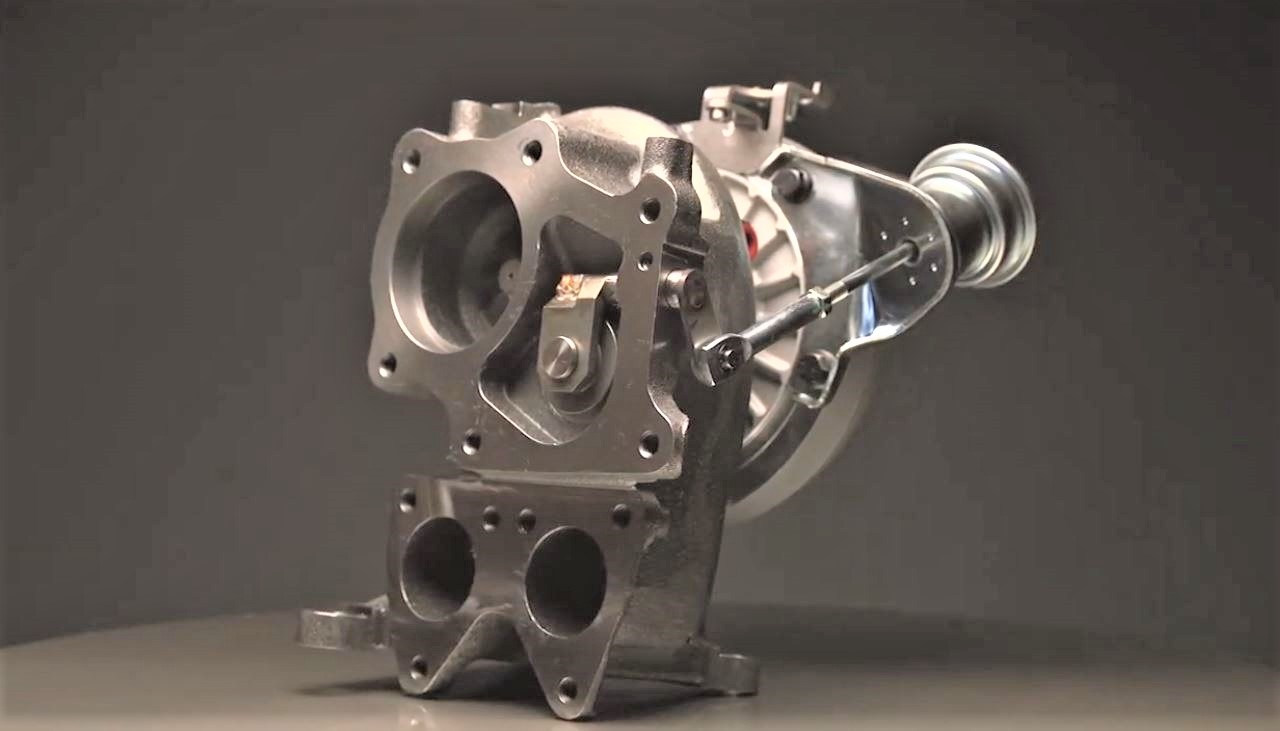 Diesel Turbocharger with Wastegate
