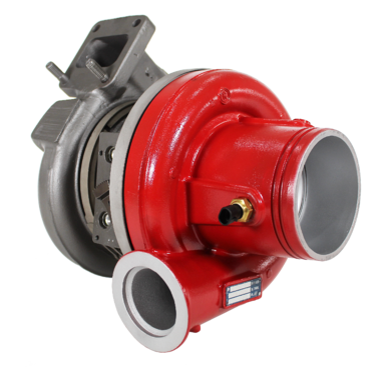 Diesel Engine VGT Turbocharger Red